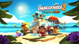 Overcooked! 2 - Surf 'n' Turf (PC) - Steam Gift - NORTH AMERICA