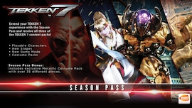 TEKKEN 7 - Season Pass Steam Key GLOBAL