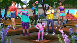 The Sims 4 Throwback Fit Kit (PC) - Steam Gift - EUROPE