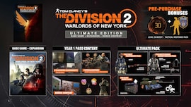Tom Clancy's The Division 2 Warlords of New York (Ultimate Edition) Xbox One Key GLOBAL
