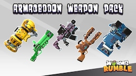 Worms Rumble - Armageddon Weapon Skin Pack (PC) - Steam Key - GLOBAL