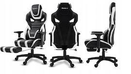 Fotel Gamingowy biurowy Gracza podnóżek HUZARO 7.5