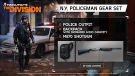 Tom Clancy's The Division - N.Y. Policeman Gear Set Ubisoft Connect Key GLOBAL