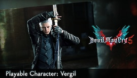 Devil May Cry 5 - Playable Character: Vergil (PC) - Steam Gift - JAPAN
