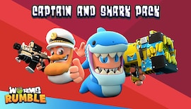 Worms Rumble - Captain & Shark Double Pack (PC) - Steam Key - GLOBAL