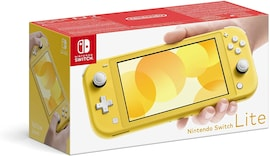 Nintendo Switch Lite 32GB System Handheld Video Game Console Device Tablet AC TESTED WORKING Light Yellow