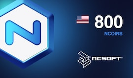 800 NCoins NCSoft Code NORTH AMERICA