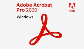 Adobe Acrobat Pro 2020 (PC) - 1 Device - Adobe Key - GLOBAL (English)