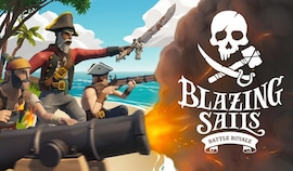 Blazing Sails: Pirate Battle Royale (PC) - Steam Key - GLOBAL