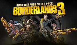 BORDERLANDS 3 - GOLD WEAPON SKINS PACK (PC) - Steam Gift - NORTH AMERICA