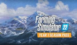Farming Simulator 22 - Year 1 Season Pass (PC) - Steam Gift - EUROPE