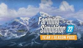 Farming Simulator 22 - Year 1 Season Pass (PC) - Steam Gift - GLOBAL