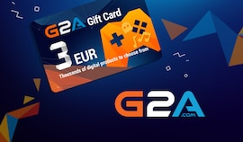 G2A Gift Card G2A.COM Key GLOBAL 3 EUR