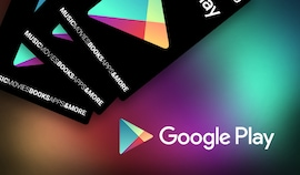 Google Play Gift Card 50 EUR EUROPE