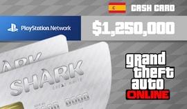 Grand Theft Auto Online: Great White Shark Cash Card 1 250 000 PS4 PSN Key SPAIN