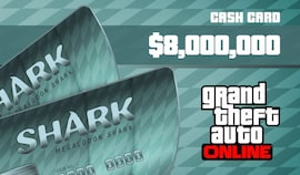 Grand Theft Auto Online: Megalodon Shark Cash Card 8 000 000 PC Rockstar Key RU/CIS