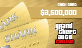 Grand Theft Auto Online: The Whale Shark Cash Card PC 3 500 000 Rockstar Key GLOBAL