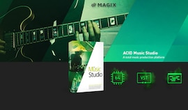 MAGIX ACID Music Studio 11 (PC) - Magix Key - GLOBAL