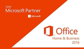 Microsoft Office Home & Business 2016 (PC) - Microsoft Key - GLOBAL