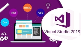Microsoft Visual Studio 2019 Professional (PC) - Microsoft Key - GLOBAL