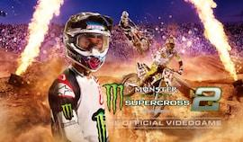 Monster Energy Supercross - The Official Videogame 2 (PC) - Steam Key - GLOBAL