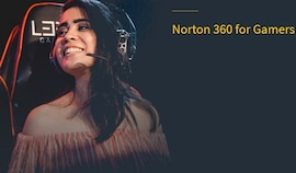 Norton 360 for Gamers (PC, Android, Mac, iOS) 3 Devices, 1 Year - Norton Key - EUROPE