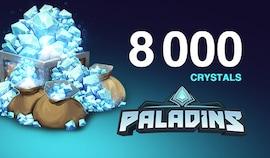 Paladins Crystals Key GLOBAL 8 000 Crystals