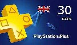 Playstation Plus Trial CARD PSN UNITED KINGDOM 30 Days