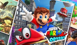 Super Mario Odyssey Nintendo Switch Nintendo Key NORTH AMERICA