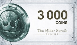 The Elder Scrolls Online Crown Pack 3 000 Coins - TESO Key - GLOBAL