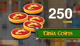 Tibia Coins Cipsoft Code GLOBAL 250 Coins