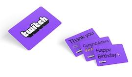 Twitch Gift Card 50 EUR - twitch Key - AUSTRIA