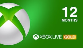 Xbox Live GOLD Subscription Card 12 Months Xbox Live NORTH AMERICA
