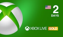 Xbox Live Gold Trial 2 Days Xbox Live NORTH AMERICA