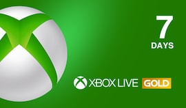 Xbox Live Gold Trial 7 Days Xbox Live GLOBAL