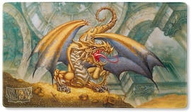 Dragon Shield - Playmat - Gold