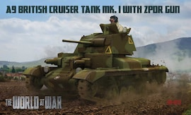 IBG Models WAW011 1:72 A9 British Cruiser Tank Mk.I with ZPDR gun