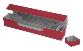 Ultimate Guard Mat Case Flip'n'Tray XenoSkin Czerwona