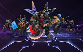 Heroes of the Storm Starter Pack Battle.net Key NORTH AMERICA
