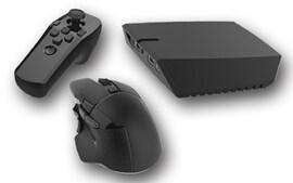 Venom X v4 Mouse controller combo Black