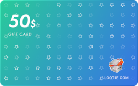 Lootie Gift Card 50 USD - Lootie Key - GLOBAL