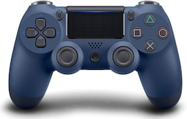 Newest PS4 Controller Dual Shock 4th Bluetooth Wireless Gamepad Joystick Remote Midnight blue