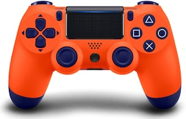 PS4 Controller Shock 4th Bluetooth Wireless Gamepad Joystick Remote Sunset Orange