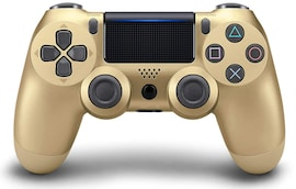 PS4 Playstation 4 Controller Console Control Double Shock 4th Bluetooth Wireless Gamepad Joystick Remote  Gold