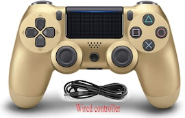PS4 Wired Controller Dual Shock 4 Gamepad For Sony Playstation 4 Gold