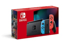 Nintendo Switch with Neon Blue and Neon Red Joy-Con Touchscreen LCD Display NVIDIA Custom Tegra Processor Carrying Case Multi-Colored