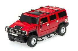 Samochód RC Hummer H2 - licencja 1:24 czerwony