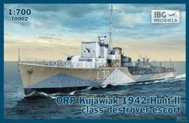 IBG Models 70002 1:700 ORP Kujawiak 1942 Hunt II