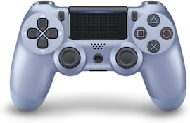 Newest PS4 Controller Dual Shock 4th Bluetooth Wireless Gamepad Joystick Remote Titanium Blue
