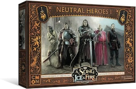 A Song Of Ice And Fire - Neutral Heroes Box 1